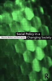 Image of Social Policy In A Changing Society