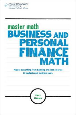 Image of Master Math : Business And Personal Finance Math