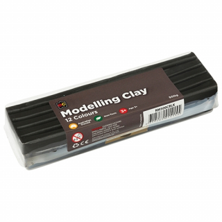 Image of Modelling Clay Ec 500gm Black