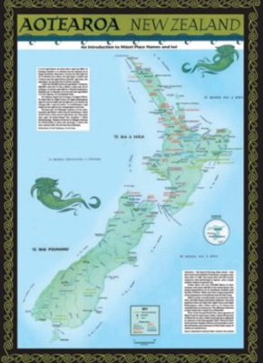 Image of Aotearoa Tribal Iwi Map : An Introduction To Maori Place Names And Iwi
