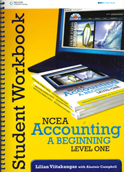 Image of Ncea Accounting : A Beginning : Level 1 : Workbook