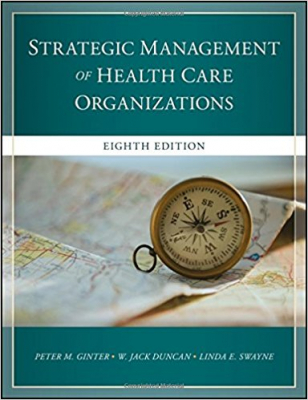 Image of Strategic Management Of Healthcare Organizations