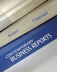 Contemporary Business Report Writing