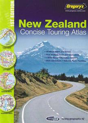 Image of Gregory's Concise Atlas Of New Zealand