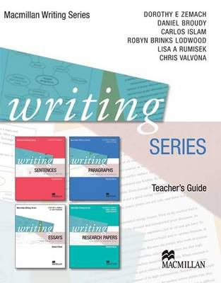 Image of Writing Series : Teacher's Guide