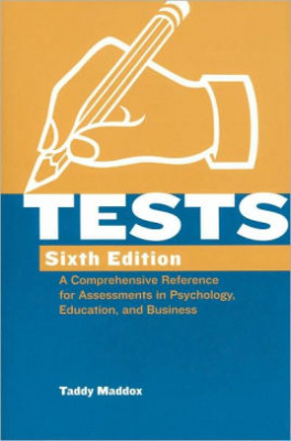 Image of Tests A Comprehensive Reference For Assessments In Psychology Education & Business