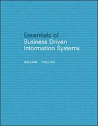 Image of Essentials Of Business Driven Information Systems