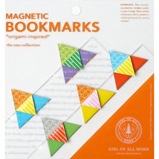 Magnetic Bookmarks : Origami