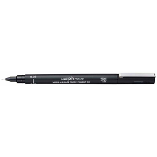 Image of Pen Uni Pin 0.03mm Black