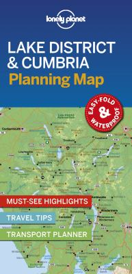 Image of Lonely Planet Lake District And Cumbria Planning Map