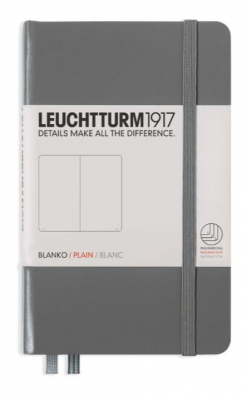 Image of Journal Leuchtturm 1917 Pocket Plain Anthracite
