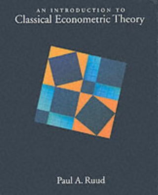 Image of An Introduction To Classical Econometric Theory