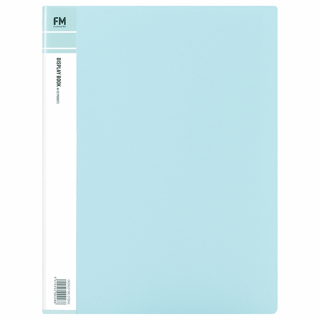 Image of Display Book 20p Fm Pastel Baby Blue