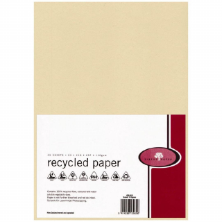 Image of Recycled Paper A4 110gsm Sand 25 Pack