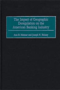 Image of Impact Of Geographic Deregulation On The American Banking Industry