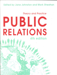 Image of Public Relations : Theory And Practice