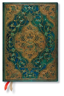 Image of Turquoise Chronicles 2021 Diary Midi Week At A Time Horizontal Format