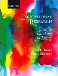 Image of Educational Reasearch : Creative Thinking And Doing