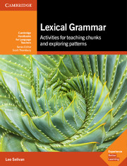 Image of Lexical Grammar : Activities For Teaching Chunks And Exploring Patterns