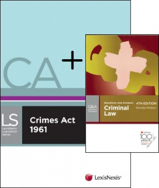 Image of Crimes Act + Butterworths Questions & Answers Criminal Law Pack