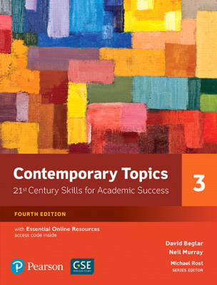 Image of Contemporary Topics 3 : 21st Century Skills For Academic Success Student's Book