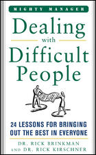 Image of Dealing With Difficult People