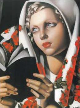 Image of Tamara De Lempicka Shrinkwrapped Print