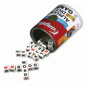 Image of Game Campbell's Soup Alphabet Dice