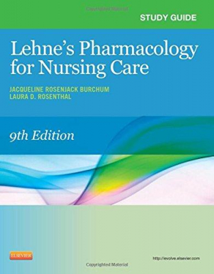 Image of Study Guide For Pharmacology For Nursing Care