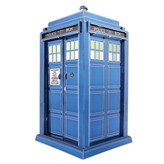 Image of Metal Earth : Dr Who Tardis