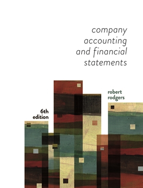 Image of Company Accounting And Financial Statements : Australia New Zealand Edition