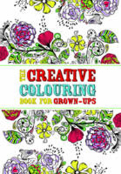 Image of Creative Colouring Book For Grown-ups