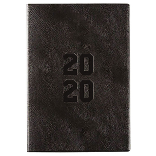 Image of Diary 2020 Cumberland Monthly Planner A5 Black