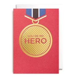Image of You're My Hero : Greeting Card