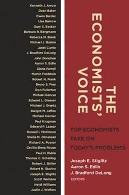 Image of The Economist's Voice : Top Economists Take On Today's Problems