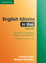 Image of English Idioms In Use : Advanced : With Answers