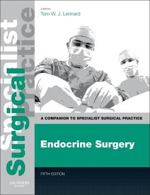 Image of Endocrine Surgery : A Companion To Specialist Surgical Practice