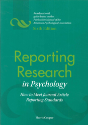 Image of Reporting Research In Psychology How To Meet Journal Articlereporting Standards