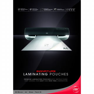 Image of Gbc Signature Laminating Pouches 25s