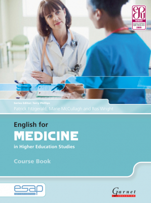 Image of English For Medicine In Higher Education Studies : Course Book With Audio Cds