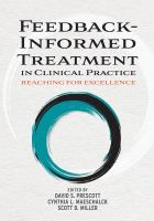 Image of Feedback-informed Treatment In Clinical Practice : Reaching For Excellence