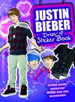 Image of Justin Bieber Sticker Dress-up Book