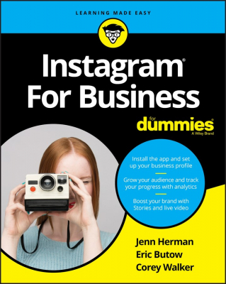 Image of Instagram For Business For Dummies