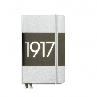 Image of Journal Leuchtturm 1917 Pocket Lined Special Edition Silver