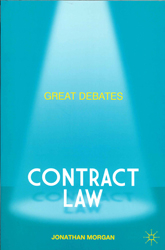 Image of Contract Law : Great Debates