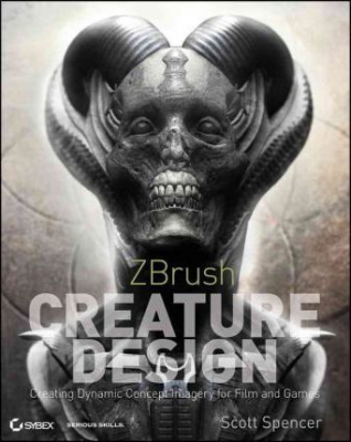 Image of Zbrush Creature Design : Creating Dynamic Concept Imagery For Film And Games