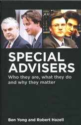 Image of Special Advisers Who They Are What They Do And Why They Matter