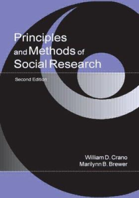 Image of Principles & Methods Of Social Research