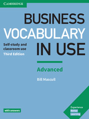 Image of Business Vocabulary In Use : Advanced With Answers