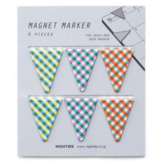 Image of Check : Magnet Page Marker : Set Of Six